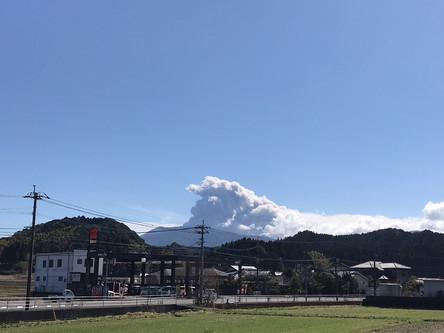 新燃岳噴火!!