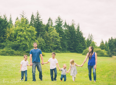 The Copeland Family Sneak Peeks {Comox Valley Photographer}