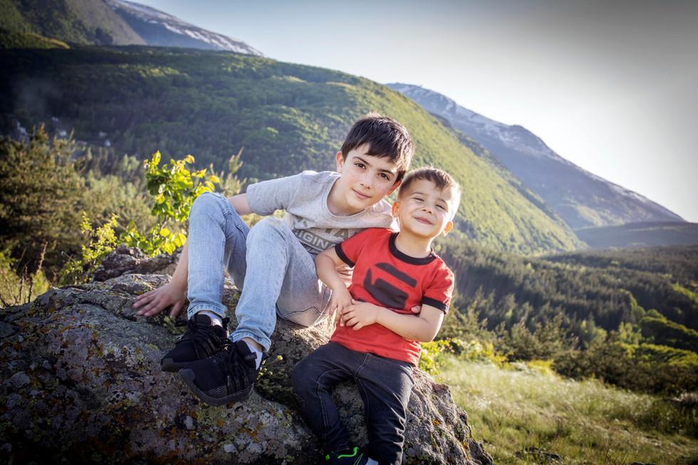 В планината над София