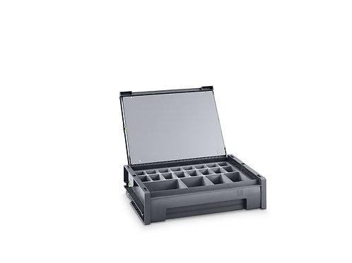 Mala varioSafe M - 525 x 340 x 115 mm - Com 20 caixas