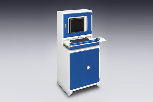 Terminal para informática - com ventilação passiva - 800 x 650 x 1700 mm