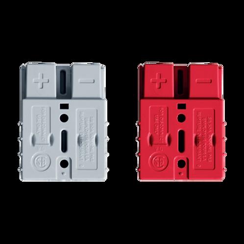 Mini Conector Anderson SB50 - Vermelho -  Sáida DC 12V