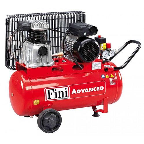 Compressor 50 litros,10 bar, 215 l/min - MK 102N-50 2M - Transmissão por correia