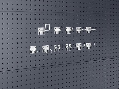Kit de Ganchos Perfo  - Pack de 13 unidades