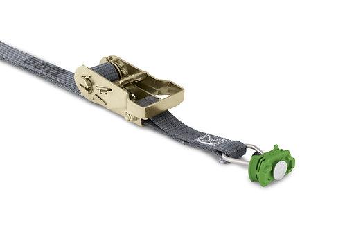 Cinta de matraca para rails de enciaxe  (130 mm ponto fixo) - 1000 x 25 mm