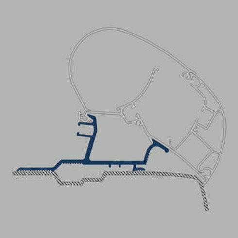 Adaptador tejadilho toldo 3,25 m - Nissan NV 400, Opel Movano, Renault Master
