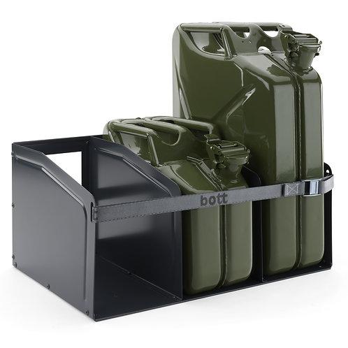 Compartimento para transporte de 3 Gerrycans - 10 / 20 litros