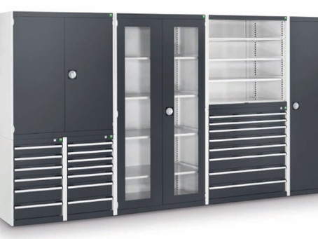 """""""bott Cubio"""" - Como optimizar o espaço na organização de materiais, acessórios e ferramentas."""