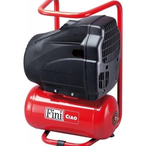 Compressor 6 litros, 8 Bar, 170 l/min - CIAO 6/1850 1,5 HP - Transmissão coaxial
