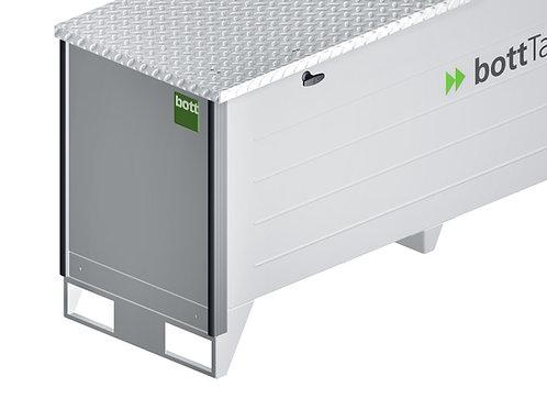 Base para empilhador - Para contentor com estore de correr - 710 x 130 mm