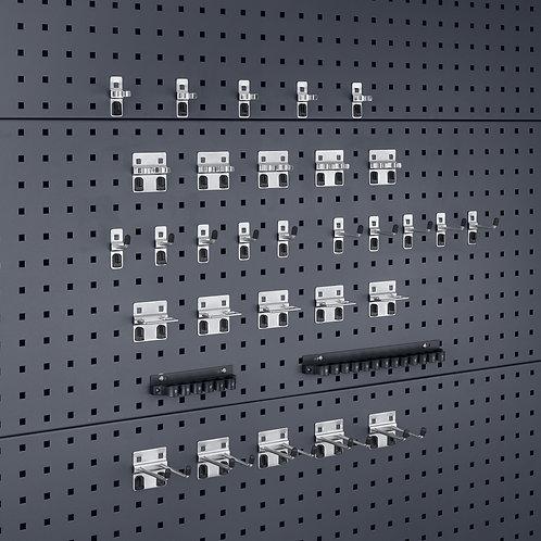 Kit de Ganchos Perfo  - Pack de 32 unidades