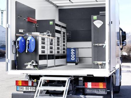 """""""bott Vario"""" - Qual o limite de espaço para transformar um veículo oficina."""