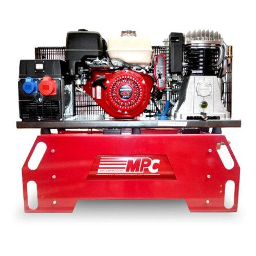 Compressor Gerador Thunder 130 / Monofásico - Motor Honda 13 HP