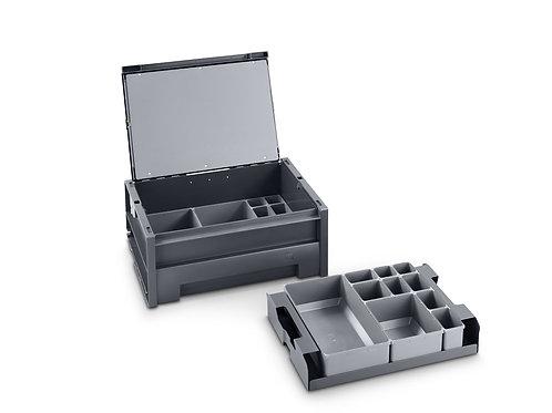 Mala varioSafe M - 525 x 440 x 115 mm - Com 27 caixas