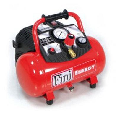 Compressor 12 litros, 8 Bar, 180 l/min - ENERGY 12 OL 195B 1,5 M - T. Coaxial