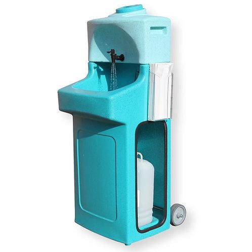 Lavatório WashStand - Água quente pré aquecida - Capacidade 40 Lavagens
