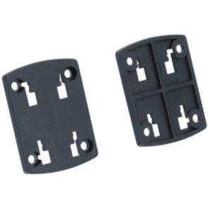 Placa de Fixação para Aparelhos - 4 furos fixação + 4 furos para parafusos
