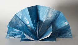 Origami Cyanotype. V. Leeming