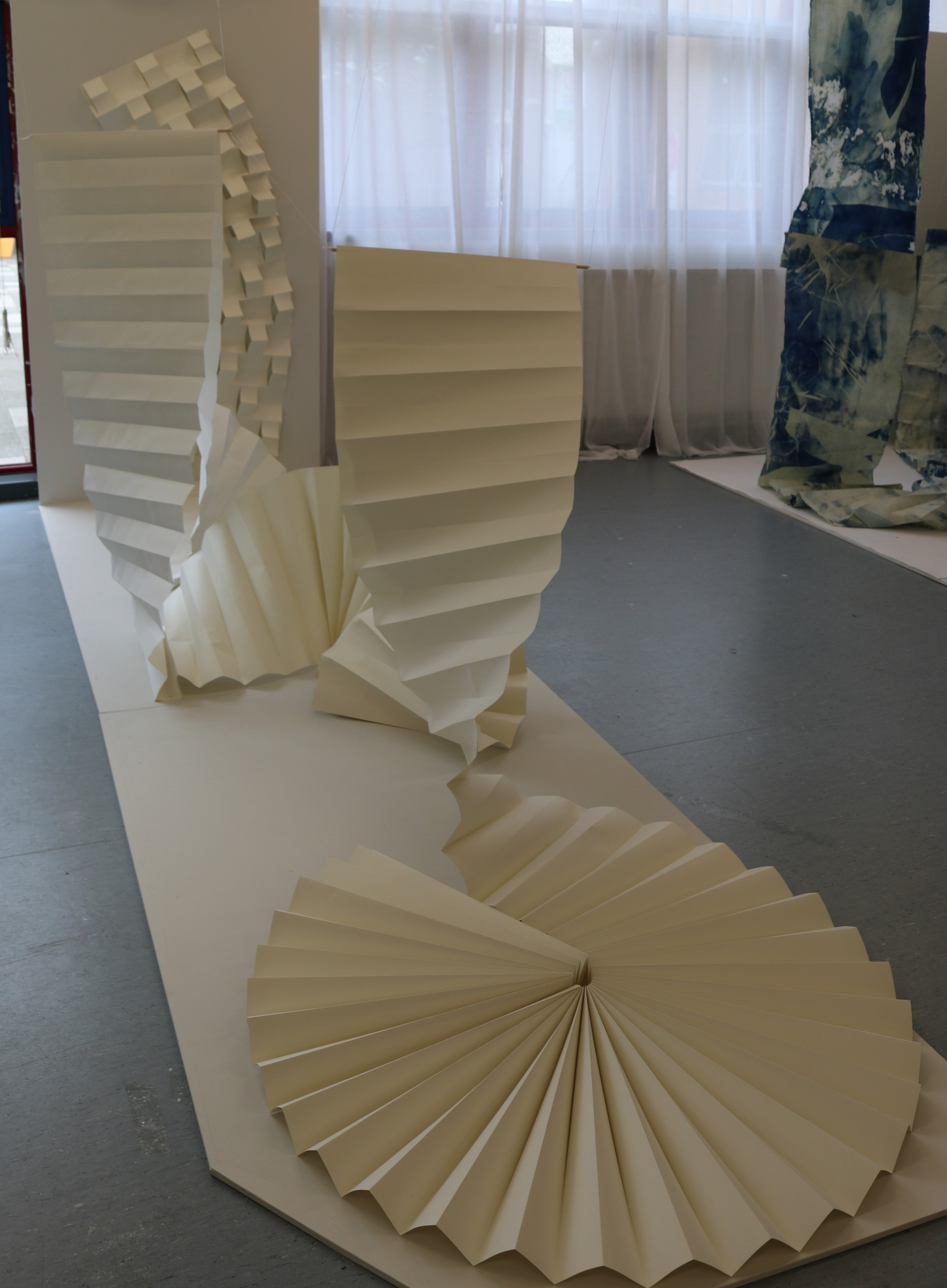 Paper Installation V Leeming 2019