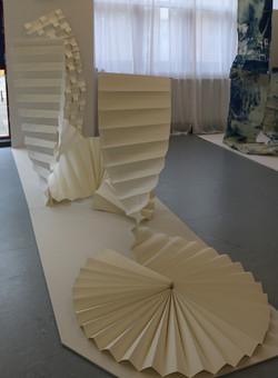 Paper Installation V Leeming 2019