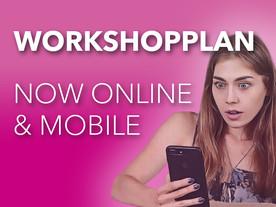 Interactive workshop-schedule online