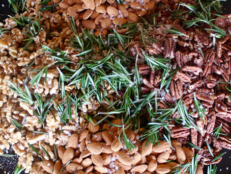 Rosemary Maple Nuts