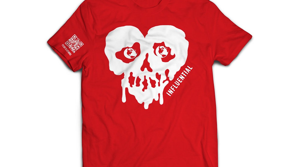 Unisex Red/White Influential Tee