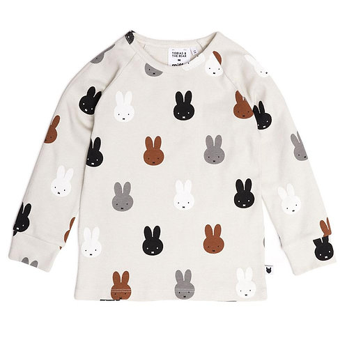 Miffy & Friends Long Sleeve Tee by Tobias & the Bear