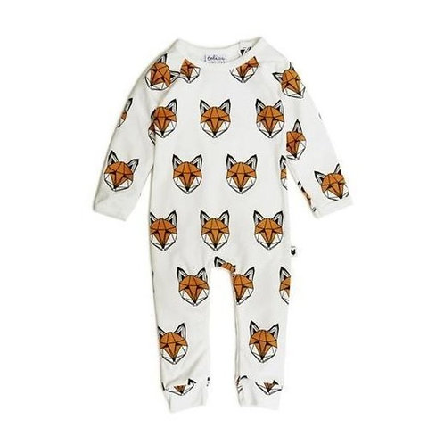 Just Call Me Fox Long Romper by Tobias & the Bear