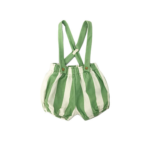Green Striped Bloomers