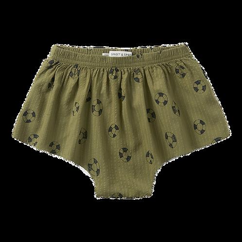 'Lifebuoy' Print Skirt Shorts