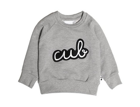 Icons Cub Badge Sweat by Tobias & the Bear