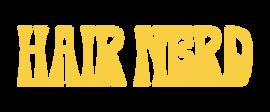 HairNerd-Shantelle-HorizontalLogo-Yellow