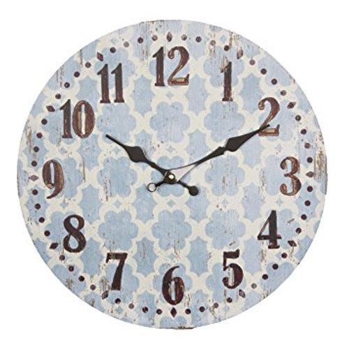 Shabby Chic Bohemian Wall Clock