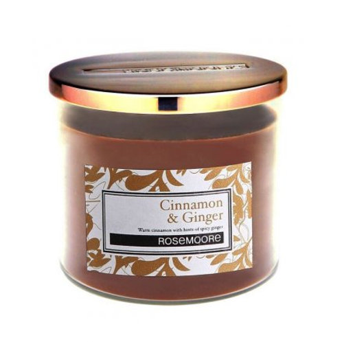 Cinnamon and Ginger Candle Jar
