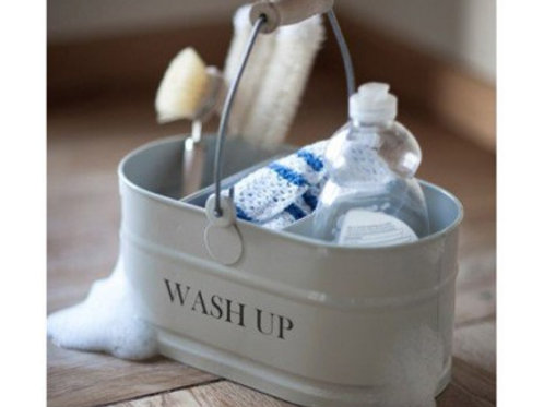 Wash Up Tidy in Chalk