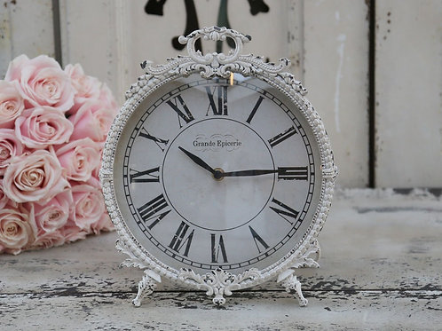 Gorgeous French Antique Style Clock With Feet