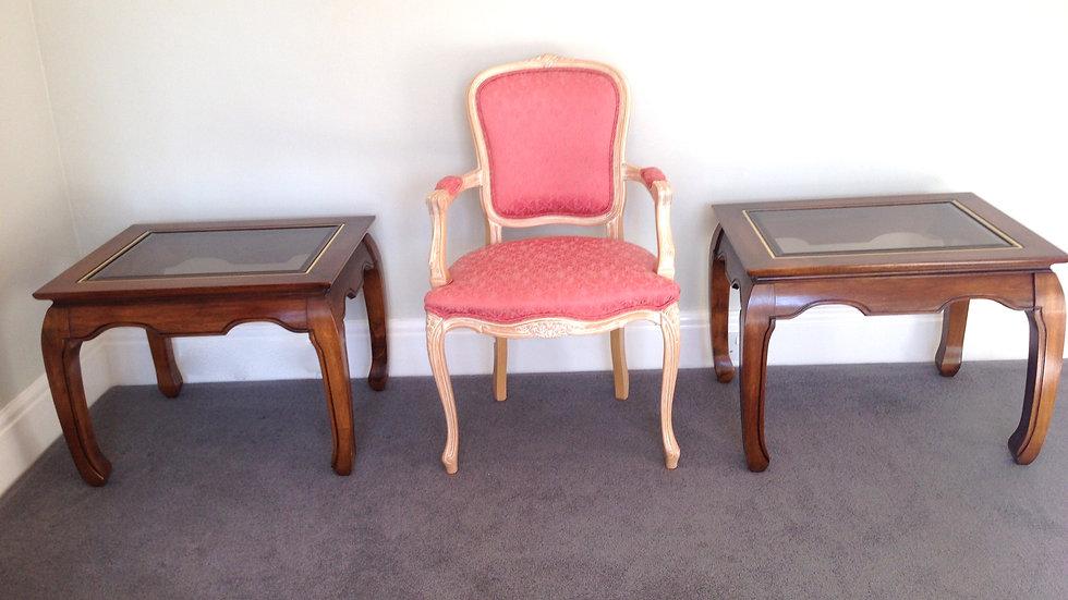 PAIR Colonial Mahogany Coffee Tables, HARRODS