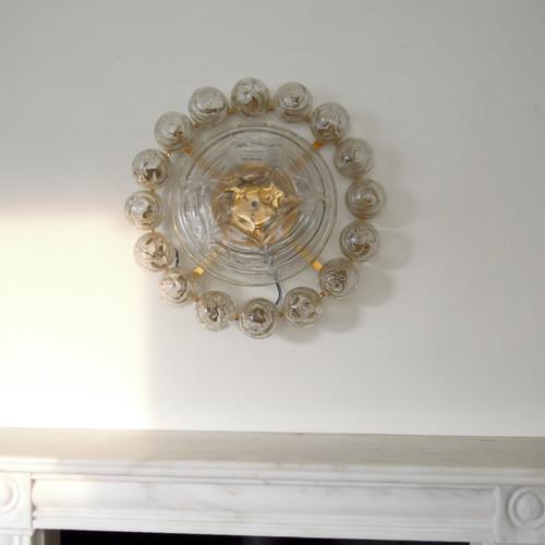 Mid century chandeliers 1st dibs rubyinthedust doria saturn ceiling light vintage murano chandelier aloadofball Gallery