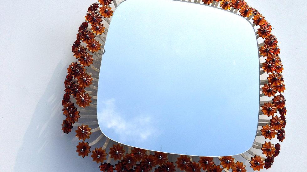 Emil Stejnar Backlit Flower Mirror GLASS