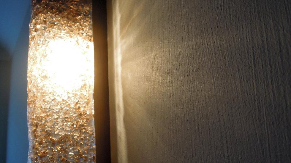 Mid Century Modern 60s Murano Glass Wall Lights