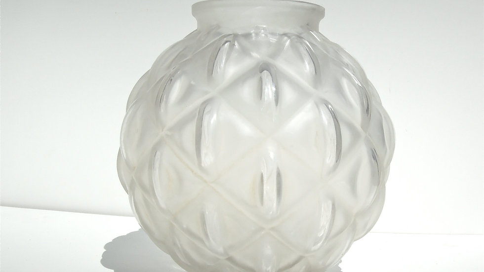 Art Deco Textured Vase, 1940s