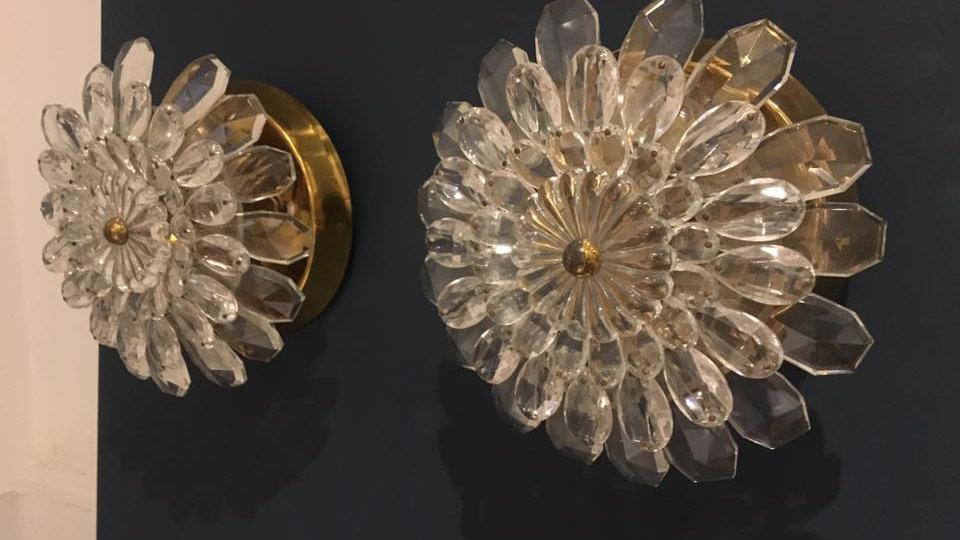Maison Bagues design Flower Wall Lights