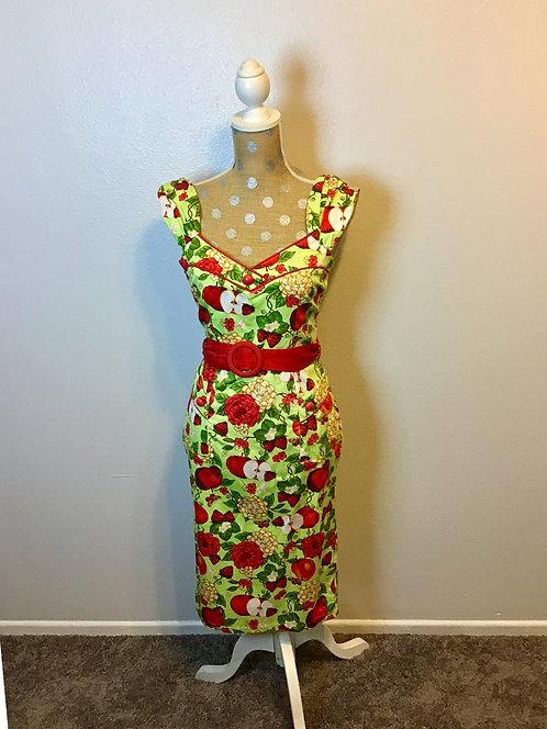 VooDoo Vixen Apple Dress (MED)