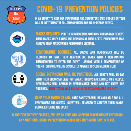 COVID-19 Prevention Policies for Events