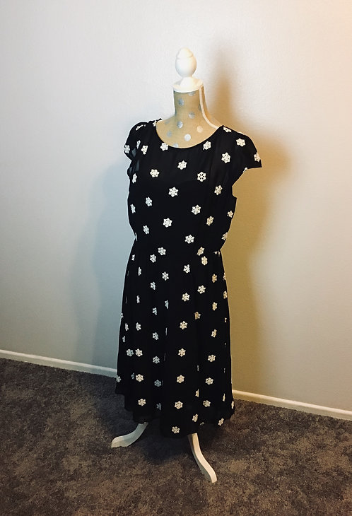 VooDoo Vixen Snowflake Dress (XL)