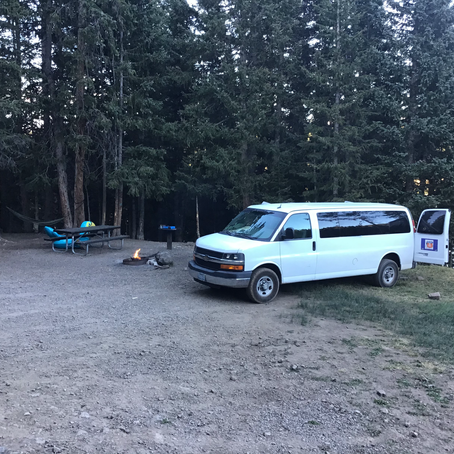 Tour Van Gets Camping Makeover