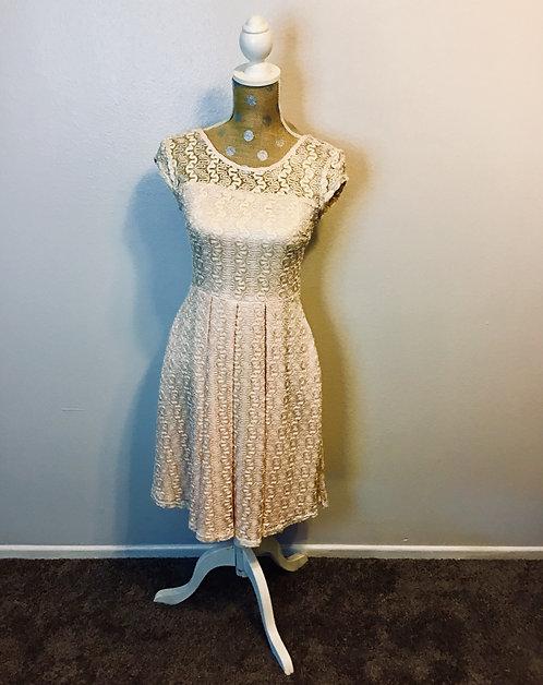 Apricity Pale Pink Dress (SMALL)