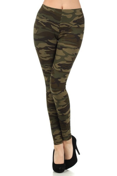 Camouflage Commando Leggings