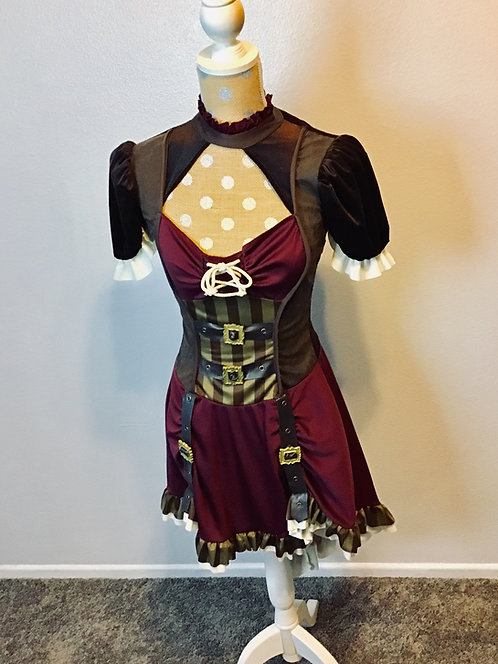 California Costume Steampunk Dress (Small)